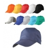 Polyesterli Tek Renk Şapka